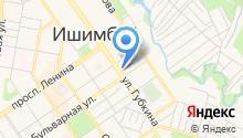 Уфимский государственный авиационный технический университет на карте
