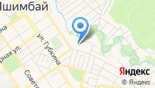 На Чкалова на карте