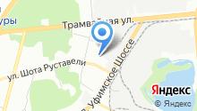 Comma-Уфа на карте