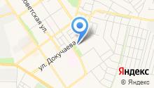 Сеть магазинов хлебобулочных изделий на карте