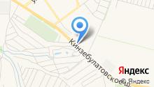 Автомойка на Кинзябулатовском шоссе на карте