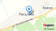 Алант на карте
