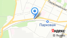 Синий бокс на карте
