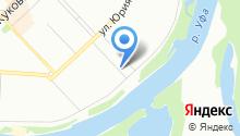 АвтоБашЭвакуатор на карте