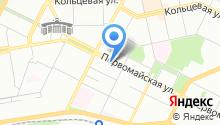 Сеть магазинов тканей и фурнитуры на карте