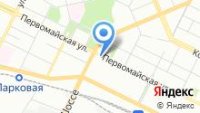 Хлебница на карте
