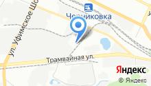 Carda на карте