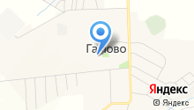 Гамовская средняя школа на карте