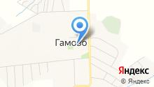 Детская школа искусств с. Гамово на карте