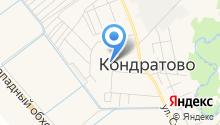 Кондратовская на карте