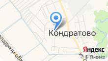 Кондратовская сельская врачебная амбулатория на карте