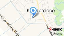 КОНДРАТОВО,САДОВОЕ КОЛЬЦО, 12, ТСЖ на карте