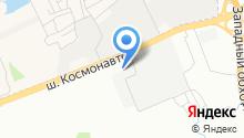 1й Складской Терминал на карте