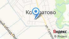 Кондратовский детский сад №2 на карте