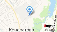 Брёховский луг на карте