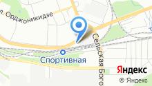 AutoVisage на карте