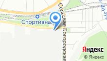МАТУР на карте