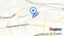 Янтарь+ на карте