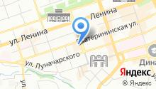 Couverture на карте