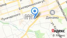 Компания по аренде помещений в центре города на карте