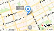 Buton на карте