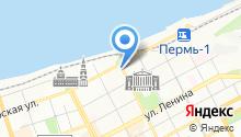 Пермский городской шахматно-шашечный клуб на карте