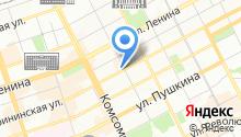 Com.Mode на карте