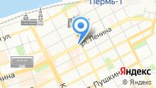 Пермская городская Дума на карте