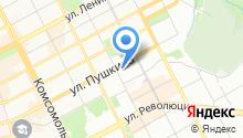 Пермский государственный гуманитарно-педагогический университет на карте
