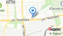 Кыштымский трикотаж на карте