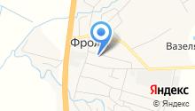 Кадастровый инженер Селиванова К.В. на карте
