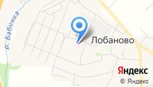 Лобановская аптека на карте