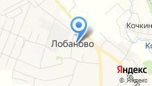 Лобановская средняя общеобразовательная школа на карте