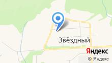 Наола на карте