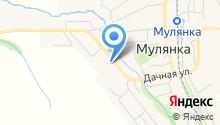 Мулянская средняя общеобразовательная школа на карте