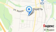 Магазин на Садовой на карте