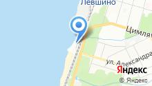 Яхта Руслан на карте