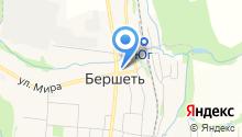 Нор на карте