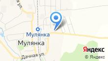 Лобановское участковое лесничество на карте