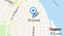 Единая дежурно-диспетчерская служба Усольского района на карте