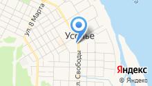 ЗАГС Усольского муниципального района на карте