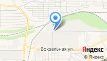 Алекстан на карте