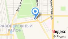 Теплофикация, МП на карте