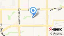 Service GPS на карте