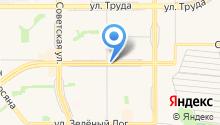 Сеть автостоянок на карте