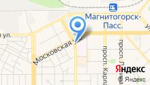 Автостоянка на Московской на карте