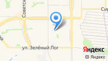 Автостоянка на ул. Жукова на карте