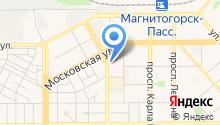 Автостоянка на ул. Герцена на карте