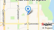 Urals на карте