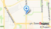 Ночная автопарковка на карте